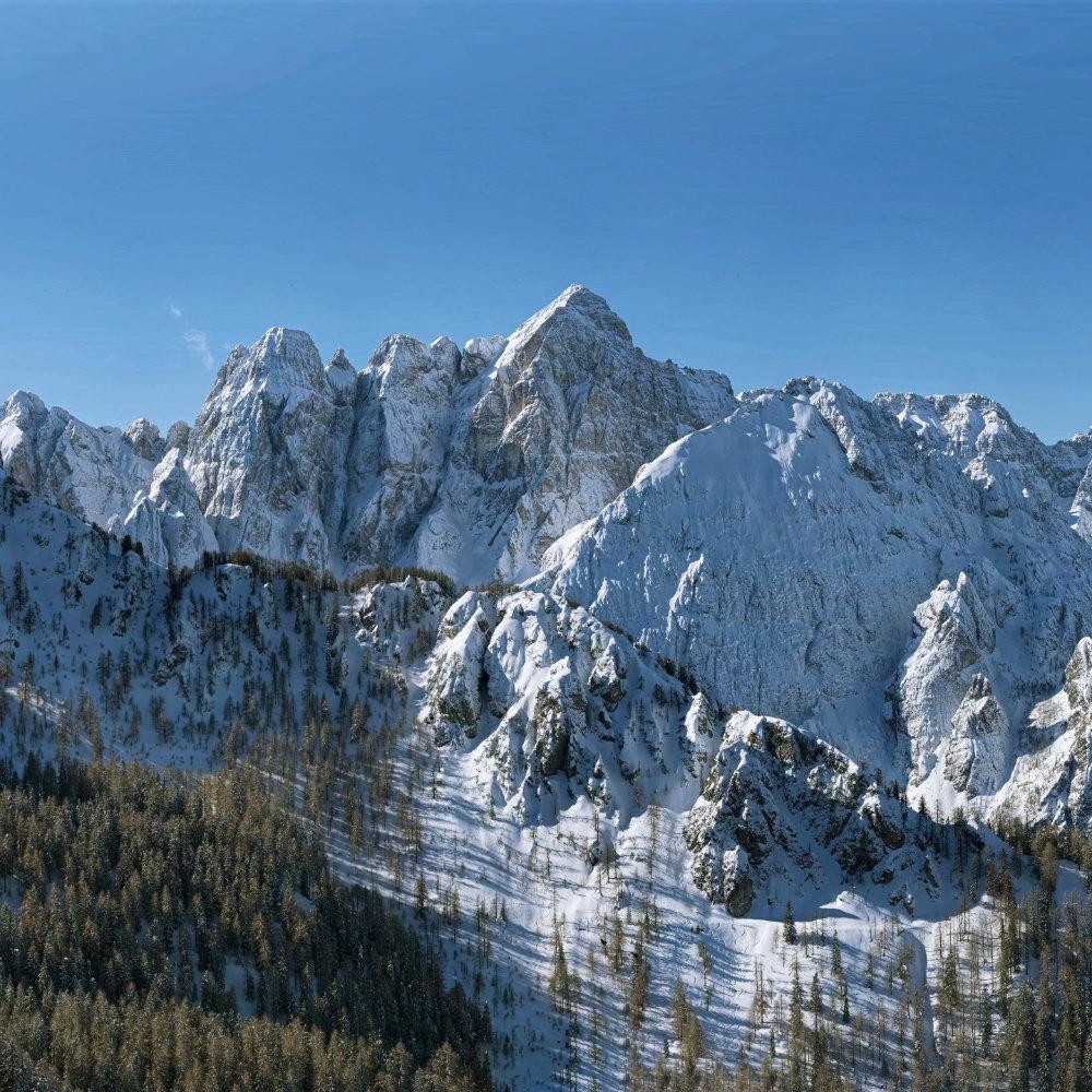 Fotografie Gigapixel Alta Risoluzione Monte Lussari